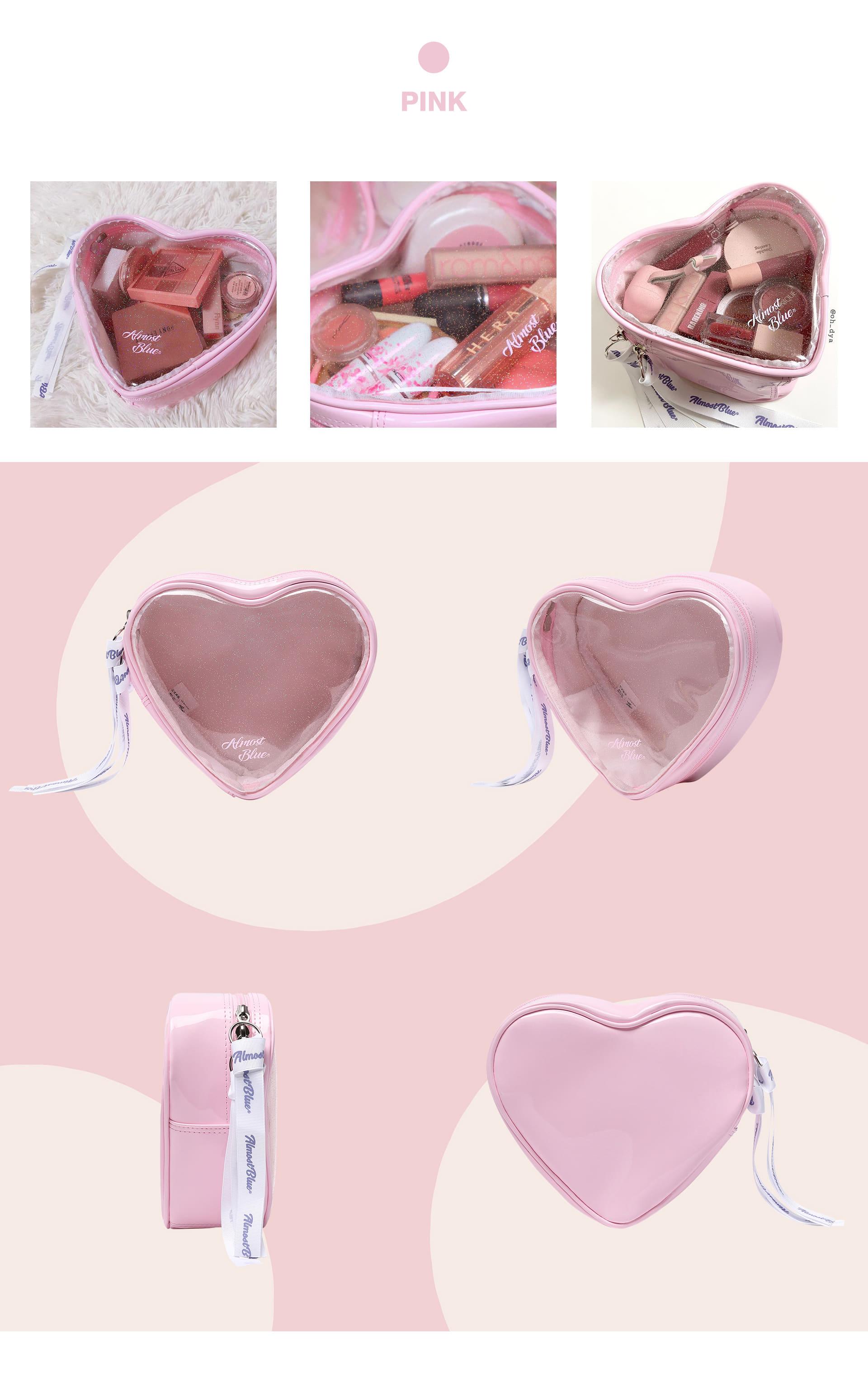 얼모스트블루(ALMOSTBLUE) TWINKLE HEART CANDY POUCH